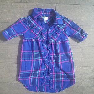 Plaid toddler dress